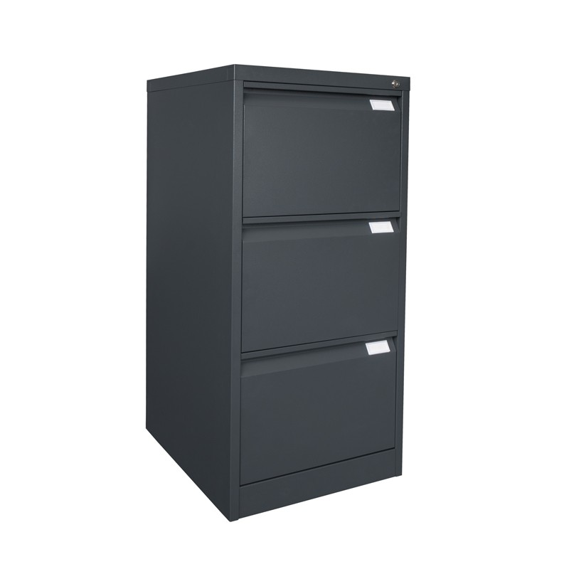 EKO HEAVY DUTY FILING CABINET, METAL, THREE DRAWER   Fast Office Furniture