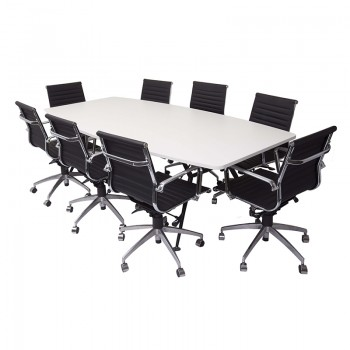 Urban Meeting Table and Heron Chair Package
