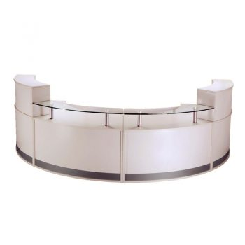 Infinity 4 Piece Evolve Large Reception Desk