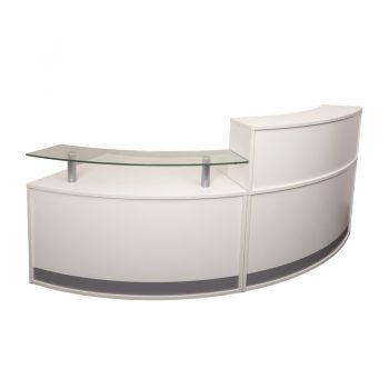 Infinity Small Reception Desk