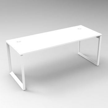 Integral Loop Frame Desk
