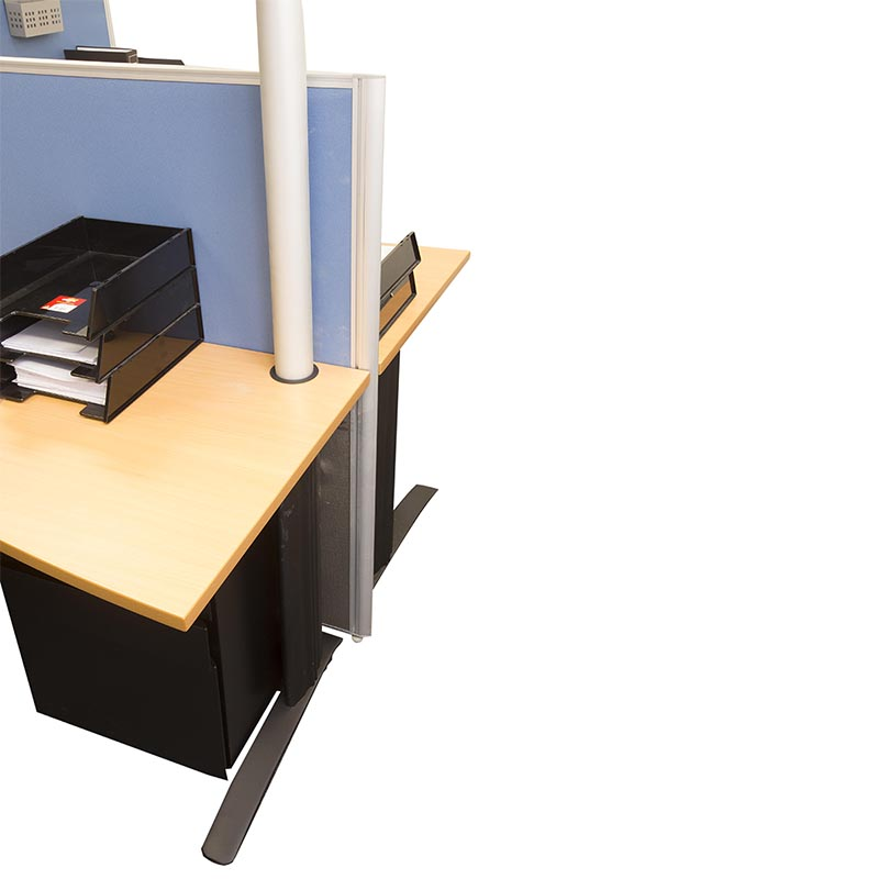 Electrical Office Equipment : Space system power pole fast office furniture