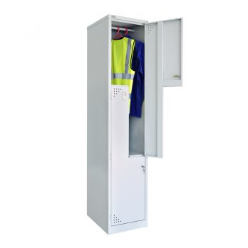 Super Strong 2 Stepped Door Locker, Open Top