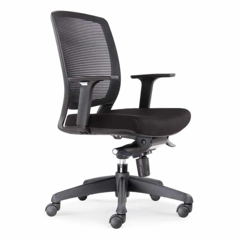 mode promesh medium back chair fast office furniture