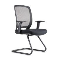 Mode Visitor Chair, Front Angle View