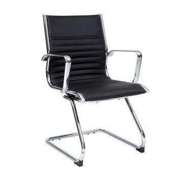 Atlantic Visitor Chair, Black