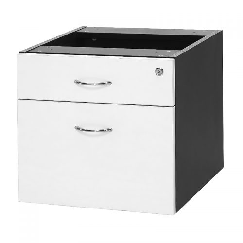 Chill Fixed Drawer Unit - 1 Personal + 1 Deep File Drawer