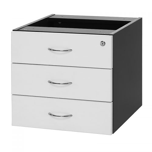 Chill Fixed Drawer Unit - 3 Personal Drawers