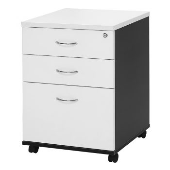 Chill Mobile Drawer Unit - 2 Personal + 1 Deep File Drawer