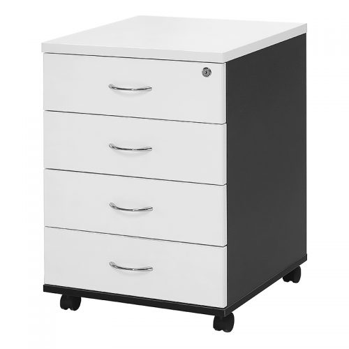 Chill Mobile Drawer Unit - 4 Personal Drawers