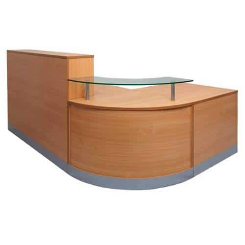 Curve Reception Desk