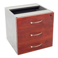 Executive Fixed Drawer Unit with 3 Personal Drawers