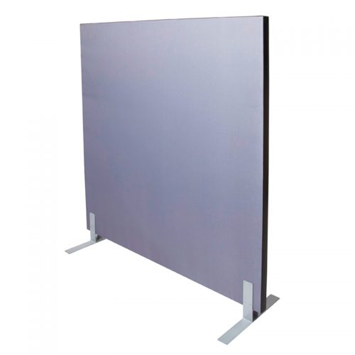 Fast Portable Accoustic Screen Divider, Grey Fabric