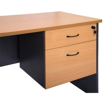 Function Fixed Drawer Unit, 1 Personal + 1 Deep File Drawer