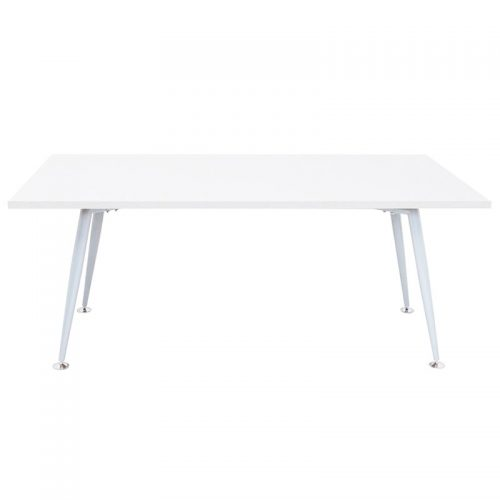 Space System Meeting Table, Natural White Table Top