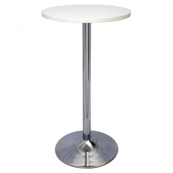 Stacey High Table, Parchment Table Top