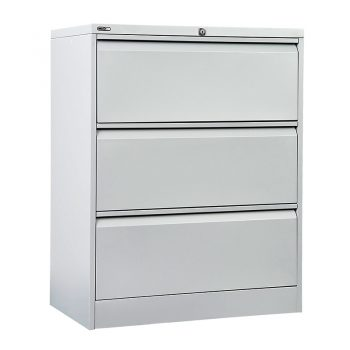 Super Strong Three Drawer Metal Lateral File Drawers 10 Year Warranty