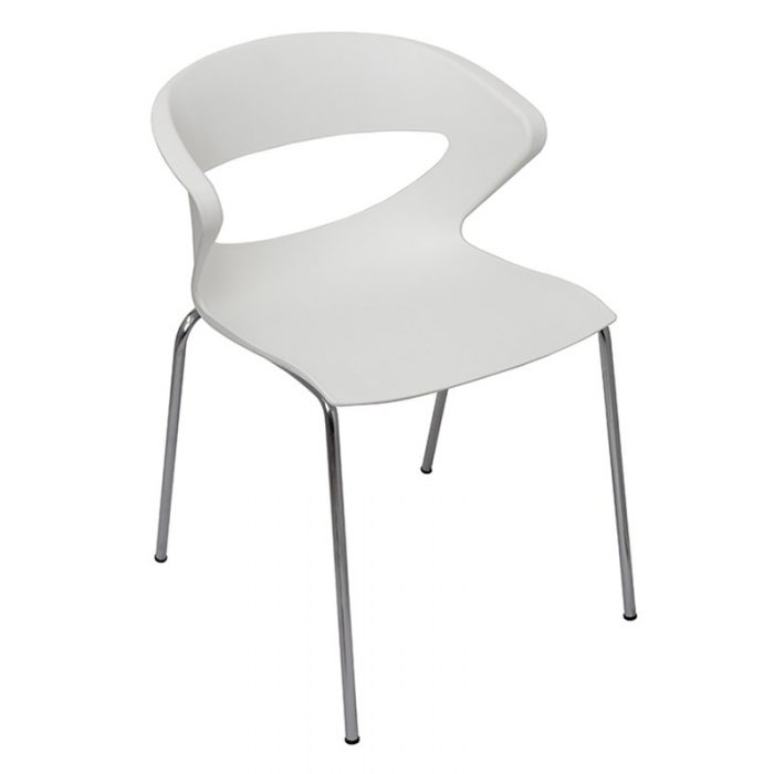 Angela Chair, White