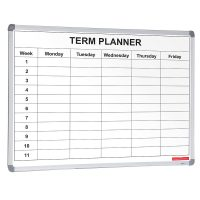 Single Term Planner White Board