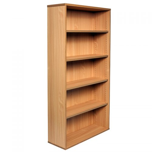 Space System Bookcase, 1800h x 900w x 315d, Beech