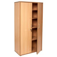 Space System Storage Cupboard, Beech