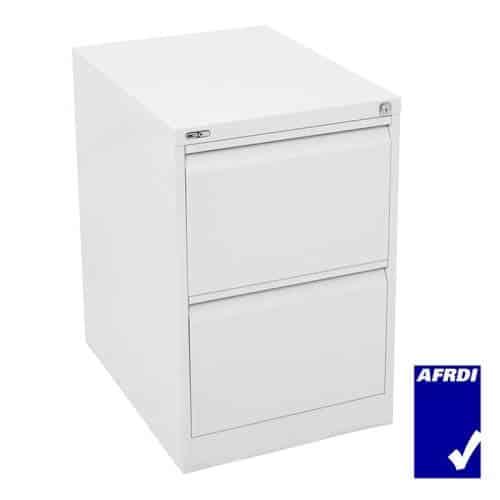 Super Strong 2 Drawer Metal Filing Cabinet