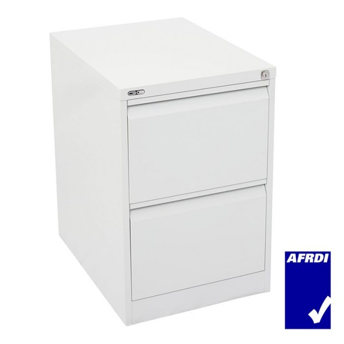 Super Strong Filing Cabinet Metal Two Drawer
