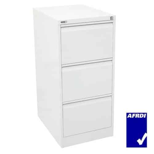 Super Strong 3 Drawer Metal Filing Cabinet