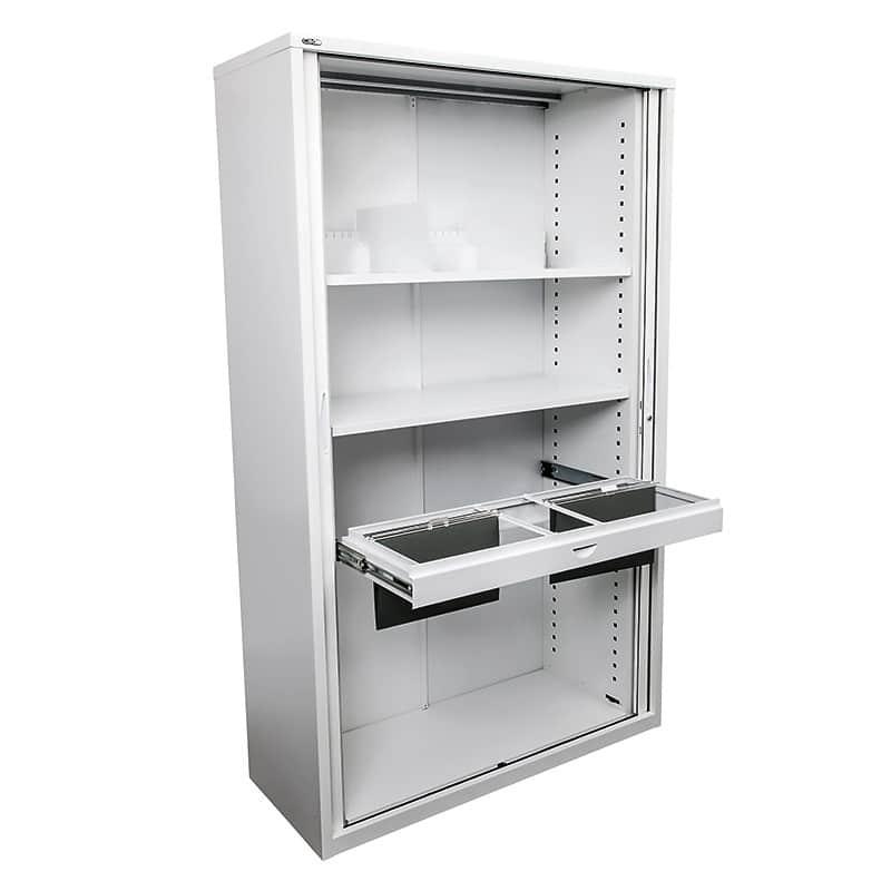 Super Strong Metal Tambour Door Storage Cabinet