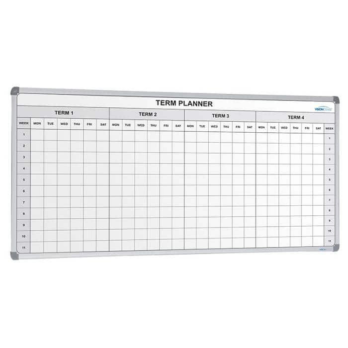 Term Planner White Board