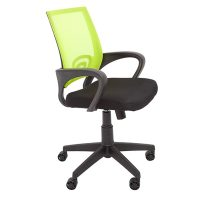 Condo Home Study Chair, Lime Mesh Back