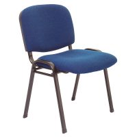 Macleay Chair, Navy Fabric
