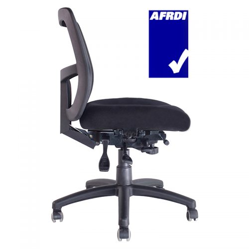 WORKS PROMESH HIGH BACK CHAIR 165kg USER WEIGHT RATING
