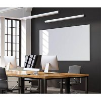 Slim Edge Designer Magnetic White Board, Wall Mounted