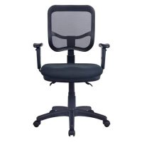 Stradbroke Promesh High Back Task Chair with Large Seat, and Arms