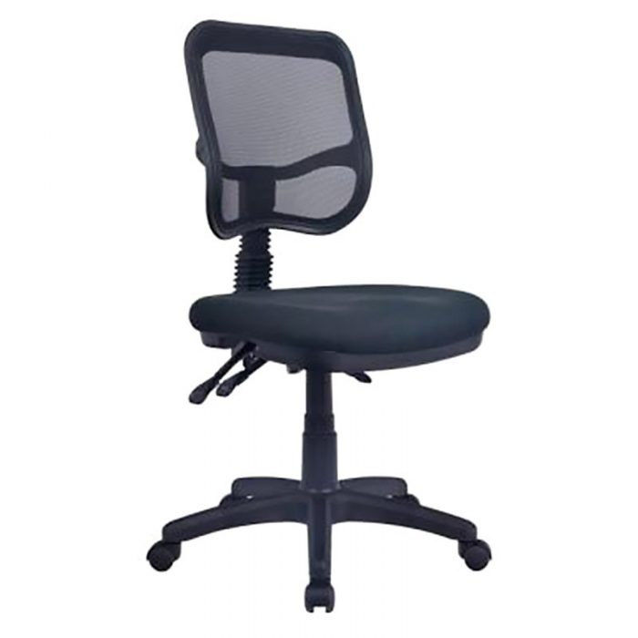 Stradbroke Promesh High Back Task Chair with Large Seat, no Arms