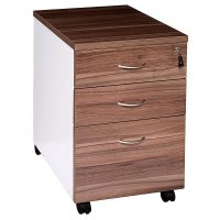 Aspect Mobile Drawer Unit, 2 Personal + 1 Deep File Drawer