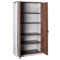 Aspect Storage Cupboard, Open Doors