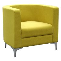 Evia Tub Chair, Lime
