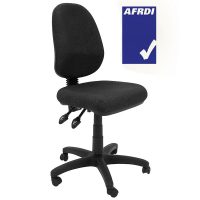 Yarrhi Chair, Charcoal Fabric - AFRDI
