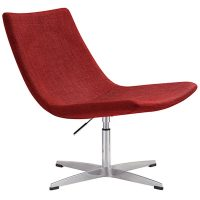 Brenta Chair, Red Fabric