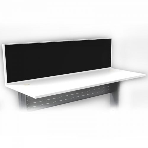 Integral Express Desk Mount Screen Divider, Fixed to Desk Top