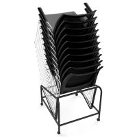 Neo Chair Trolley, Chairs Stacked