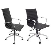 Heron High Back and Medium Back Chairs