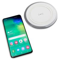 Energy Round Wireless Desk Top Charging Pad, with Phone