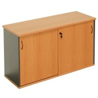 Function Sliding Door Credenza
