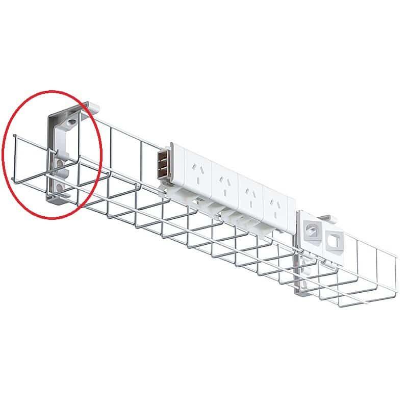 energy single tier under desk cable basket