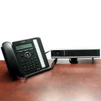 Logic Desk Top Power Rail, Phone Connected