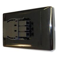 Energy Soft Wire Wall Starter Socket, Black