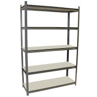 StoreIt Metal Shelving Unit